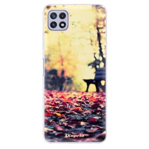 Odolné silikonové pouzdro iSaprio - Bench 01 na mobil Samsung Galaxy A22 5G