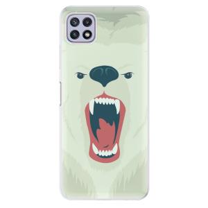 Odolné silikonové pouzdro iSaprio - Angry Bear na mobil Samsung Galaxy A22 5G