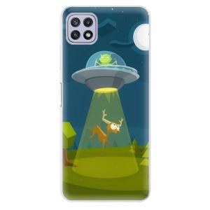 Odolné silikonové pouzdro iSaprio - Alien 01 na mobil Samsung Galaxy A22 5G