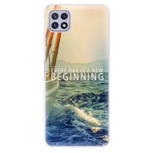 Odolné silikonové pouzdro iSaprio - Beginning na mobil Samsung Galaxy A22 5G