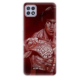 Odolné silikonové pouzdro iSaprio - Bruce Lee na mobil Samsung Galaxy A22 5G
