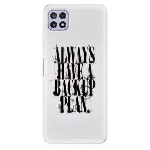 Odolné silikonové pouzdro iSaprio - Backup Plan na mobil Samsung Galaxy A22 5G
