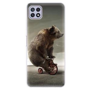 Odolné silikonové pouzdro iSaprio - Bear 01 na mobil Samsung Galaxy A22 5G