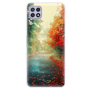 Odolné silikonové pouzdro iSaprio - Autumn 03 na mobil Samsung Galaxy A22 5G