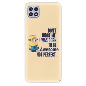 Odolné silikonové pouzdro iSaprio - Be Awesome na mobil Samsung Galaxy A22 5G