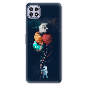 Odolné silikonové pouzdro iSaprio - Balloons 02 na mobil Samsung Galaxy A22 5G