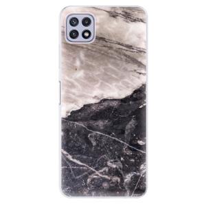 Odolné silikonové pouzdro iSaprio - BW Marble na mobil Samsung Galaxy A22 5G