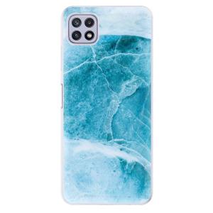 Odolné silikonové pouzdro iSaprio - Blue Marble na mobil Samsung Galaxy A22 5G