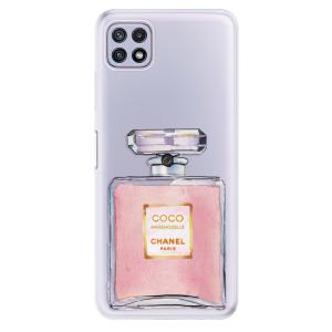 Odolné silikonové pouzdro iSaprio - Chanel Rose na mobil Samsung Galaxy A22 5G