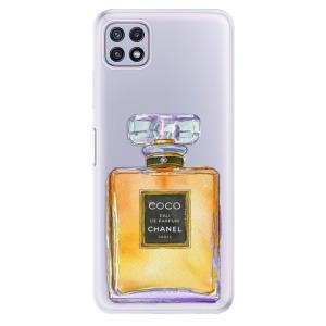 Odolné silikonové pouzdro iSaprio - Chanel Gold na mobil Samsung Galaxy A22 5G