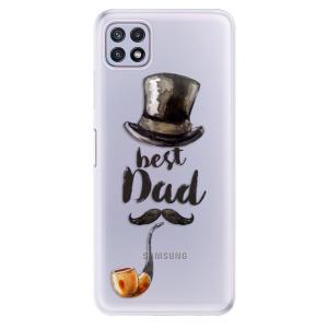 Odolné silikonové pouzdro iSaprio - Best Dad na mobil Samsung Galaxy A22 5G