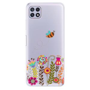 Odolné silikonové pouzdro iSaprio - Bee 01 na mobil Samsung Galaxy A22 5G
