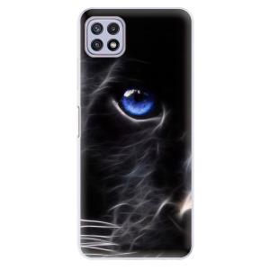 Odolné silikonové pouzdro iSaprio - Black Puma na mobil Samsung Galaxy A22 5G