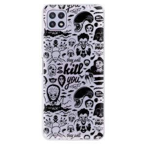 Odolné silikonové pouzdro iSaprio - Comics 01 - black na mobil Samsung Galaxy A22 5G