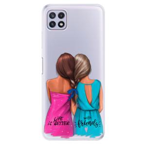 Odolné silikonové pouzdro iSaprio - Best Friends na mobil Samsung Galaxy A22 5G