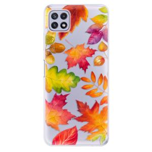 Odolné silikonové pouzdro iSaprio - Autumn Leaves 01 na mobil Samsung Galaxy A22 5G
