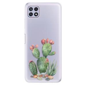 Odolné silikonové pouzdro iSaprio - Cacti 01 na mobil Samsung Galaxy A22 5G