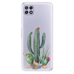 Odolné silikonové pouzdro iSaprio - Cacti 02 na mobil Samsung Galaxy A22 5G