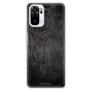 Odolné silikonové pouzdro iSaprio - Black Wood 13 na mobil Xiaomi Redmi Note 10 / Xiaomi Redmi Note 10S