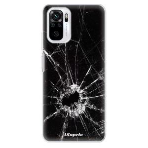 Odolné silikonové pouzdro iSaprio - Broken Glass 10 na mobil Xiaomi Redmi Note 10 / Xiaomi Redmi Note 10S