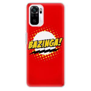 Odolné silikonové pouzdro iSaprio - Bazinga 01 na mobil Xiaomi Redmi Note 10 / Xiaomi Redmi Note 10S