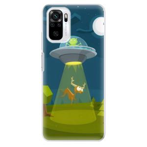 Odolné silikonové pouzdro iSaprio - Alien 01 na mobil Xiaomi Redmi Note 10 / Xiaomi Redmi Note 10S