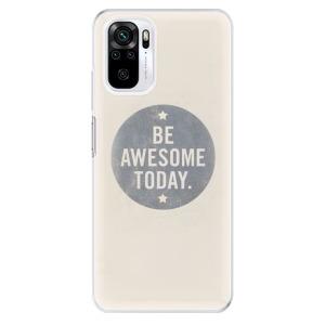 Odolné silikonové pouzdro iSaprio - Awesome 02 na mobil Xiaomi Redmi Note 10 / Xiaomi Redmi Note 10S