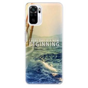 Odolné silikonové pouzdro iSaprio - Beginning na mobil Xiaomi Redmi Note 10 / Xiaomi Redmi Note 10S