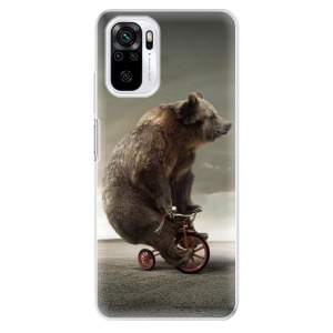 Odolné silikonové pouzdro iSaprio - Bear 01 na mobil Xiaomi Redmi Note 10 / Xiaomi Redmi Note 10S