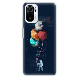 Odolné silikonové pouzdro iSaprio - Balloons 02 na mobil Xiaomi Redmi Note 10 / Xiaomi Redmi Note 10S
