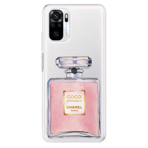 Odolné silikonové pouzdro iSaprio - Chanel Rose na mobil Xiaomi Redmi Note 10 / Xiaomi Redmi Note 10S