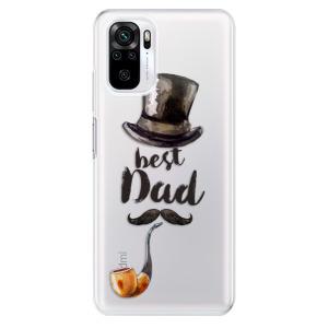 Odolné silikonové pouzdro iSaprio - Best Dad na mobil Xiaomi Redmi Note 10 / Xiaomi Redmi Note 10S