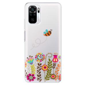 Odolné silikonové pouzdro iSaprio - Bee 01 na mobil Xiaomi Redmi Note 10 / Xiaomi Redmi Note 10S