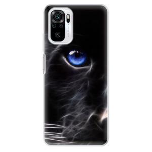Odolné silikonové pouzdro iSaprio - Black Puma na mobil Xiaomi Redmi Note 10 / Xiaomi Redmi Note 10S