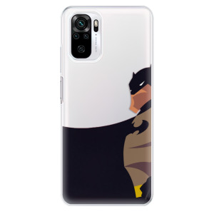 Odolné silikonové pouzdro iSaprio - BaT Comics na mobil Xiaomi Redmi Note 10 / Xiaomi Redmi Note 10S