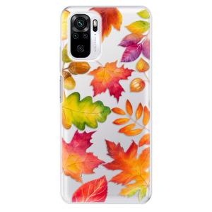 Odolné silikonové pouzdro iSaprio - Autumn Leaves 01 na mobil Xiaomi Redmi Note 10 / Xiaomi Redmi Note 10S