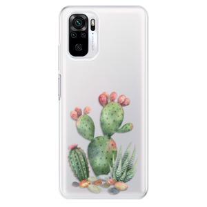 Odolné silikonové pouzdro iSaprio - Cacti 01 na mobil Xiaomi Redmi Note 10 / Xiaomi Redmi Note 10S
