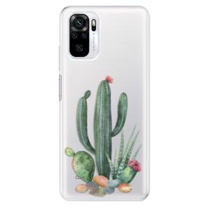 Odolné silikonové pouzdro iSaprio - Cacti 02 na mobil Xiaomi Redmi Note 10 / Xiaomi Redmi Note 10S