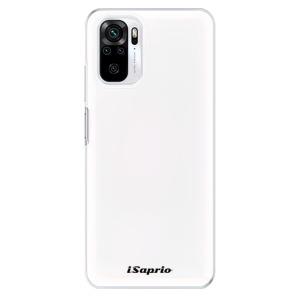 Odolné silikonové pouzdro iSaprio - 4Pure - bílé na mobil Xiaomi Redmi Note 10 / Xiaomi Redmi Note 10S