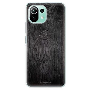 Odolné silikonové pouzdro iSaprio - Black Wood 13 na mobil Xiaomi Mi 11 Lite / Xiaomi 11 Lite 5G NE