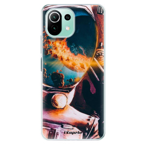 Odolné silikonové pouzdro iSaprio - Astronaut 01 na mobil Xiaomi Mi 11 Lite / Xiaomi 11 Lite 5G NE