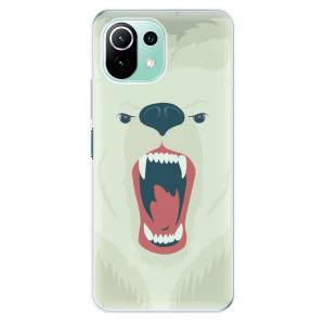 Odolné silikonové pouzdro iSaprio - Angry Bear na mobil Xiaomi Mi 11 Lite / Xiaomi 11 Lite 5G NE