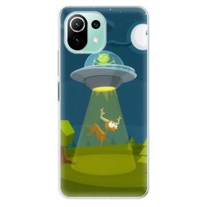 Odolné silikonové pouzdro iSaprio - Alien 01 na mobil Xiaomi Mi 11 Lite / Xiaomi 11 Lite 5G NE