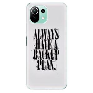 Odolné silikonové pouzdro iSaprio - Backup Plan na mobil Xiaomi Mi 11 Lite / Xiaomi 11 Lite 5G NE