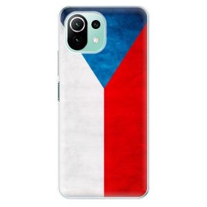 Odolné silikonové pouzdro iSaprio - Czech Flag na mobil Xiaomi Mi 11 Lite / Xiaomi 11 Lite 5G NE