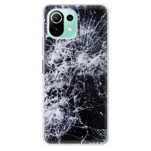 Odolné silikonové pouzdro iSaprio - Cracked na mobil Xiaomi Mi 11 Lite / Xiaomi 11 Lite 5G NE