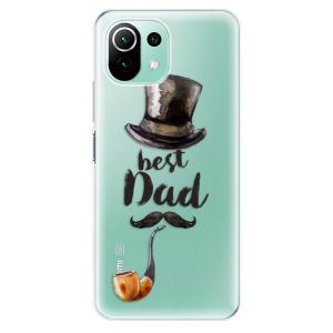 Odolné silikonové pouzdro iSaprio - Best Dad na mobil Xiaomi Mi 11 Lite / Xiaomi 11 Lite 5G NE