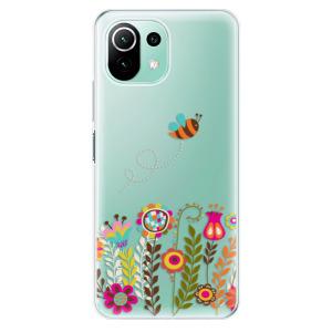 Odolné silikonové pouzdro iSaprio - Bee 01 na mobil Xiaomi Mi 11 Lite / Xiaomi 11 Lite 5G NE