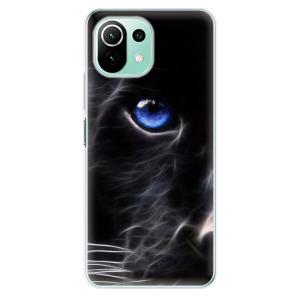 Odolné silikonové pouzdro iSaprio - Black Puma na mobil Xiaomi Mi 11 Lite / Xiaomi 11 Lite 5G NE