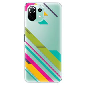 Odolné silikonové pouzdro iSaprio - Color Stripes 03 na mobil Xiaomi Mi 11 Lite / Xiaomi 11 Lite 5G NE